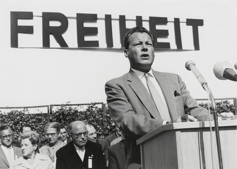 Willy Brandt Rede Mauerfall